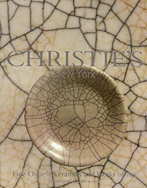 Fine Chinese Ceramics and Works of Art, Wednesday 24 March 2004: Christie's New York