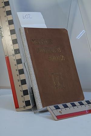 Meissner Porzellan-Marken und die wichtigsten Marken antiker: Auinger, Hermann