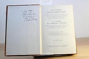 La cuisine anglo-américaine, comprenant la cuisine anglaise,: Goy, Sylvain Claudius