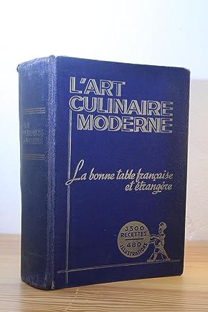 l' Art Culinaire Moderne, La bonne Table: Henri-Paul Pellaprat