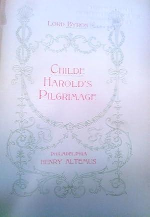 Childe Harold's Pilgrimage: Byron, Lord George