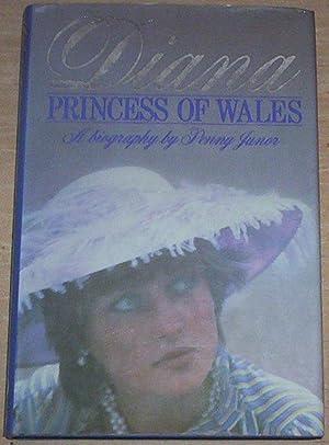Diana Princess Of Wales. A biography.: Junor, Penny (signed)