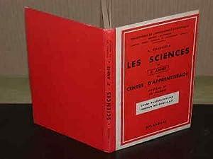 Les sciences en 3e année de centre: CHAUVIERE (R.)