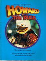 HOWARD THE DUCK - [THE MOVIE STORYBOOK]: Michael J Pellowski