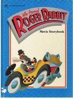 WHO FRAMED ROGER RABBIT - MOVIE STORYBOOK: Justine Korman