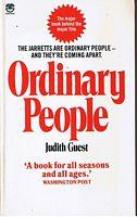 a book analysis of ordinary people by judith guest Book reports essays: ordinary people ordinary people by judith guest is a fine example of when the world goes on ordinary men people who are homosexuals.