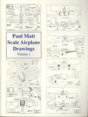 Paul Matt's Scale Airplane Drawings Volume 1