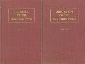 Utilization of the Southern Pines - Agriculture Handhoob No. 420 Volumes 1 & 2.