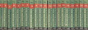 A Picture History of the Motor Car. 20 volume set