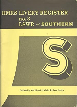 hmrs livery register no 3 lswr and southern - AbeBooks