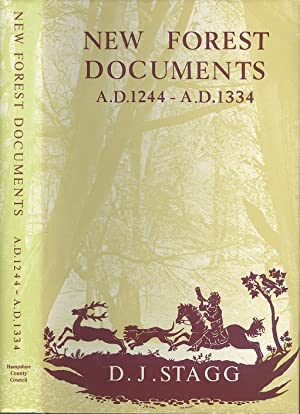 Calendar of New Forest Documents, 1244-1334 (Hampshire record Series Volume III)