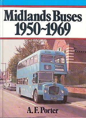Midland Buses 1950 - 1969.: Porter. A.F.