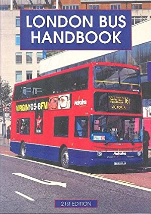 London Bus Handbook: Stewart. David and Colin Lloyd