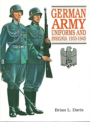 German Army Uniforms and Insignia, 1933-1945