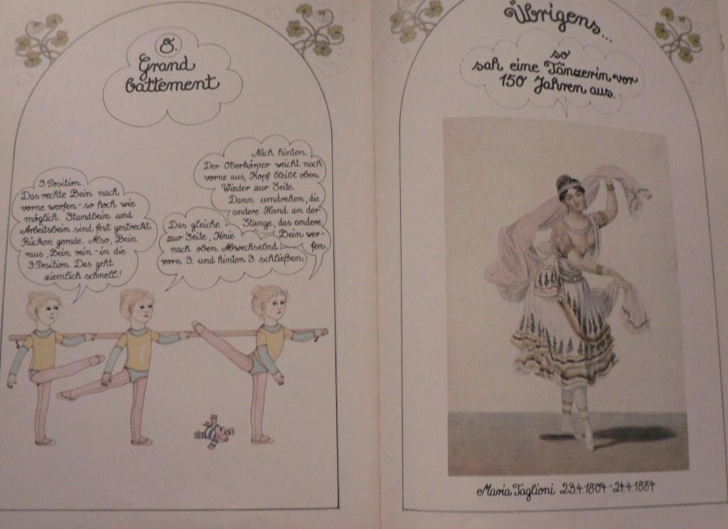 Das große Buch für die kleine Tänzerin - Antje Vogel