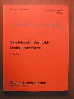 Lieder ohne Worte - Songs without Words: Felix Mendelssohn Bartholdy/Christa