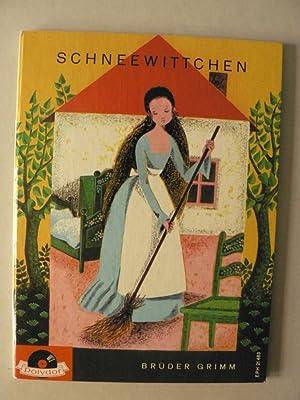 Schneewittchen (Mit Schallplatte!): Brüder Grimm/Eduard Marks
