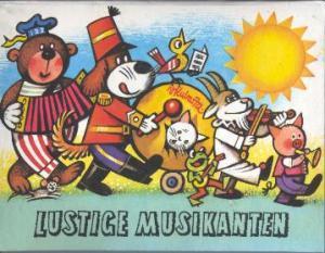 Lustige Musikanten (Pop-up-Buch): Vojtech Kubasta (Illustr.)