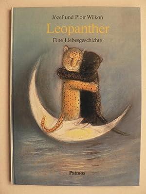 Leopanther. Eine Liebesgeschichte (großformatig): Wilkon, Józef/Wilkon, Piotr/Herbst-Rosocha,