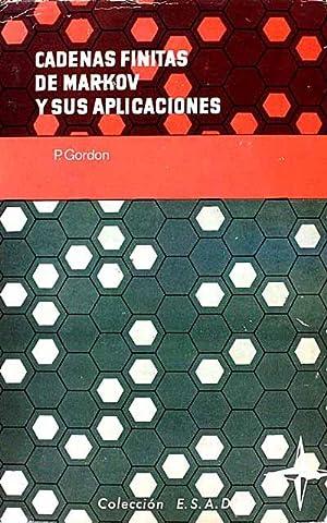 Cadenas finitas de Markov y sus aplicaciones: P. Gordon