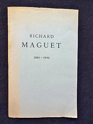 Richard Maguet (1896-1940): Albert Camus