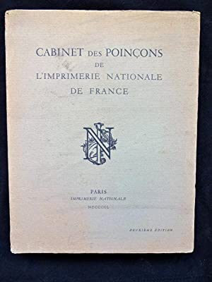 Cabinet des Poinçoins de l'Imprimerie Nationale de France