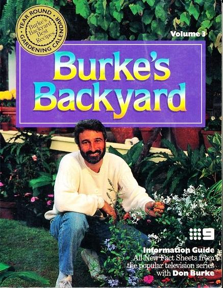 Burke Backyard burke's backyard: vol 3burke, don: random house. 9780091826451