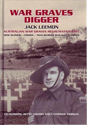 War Graves Digger. Service with an Australian: LEEMON, JACK.