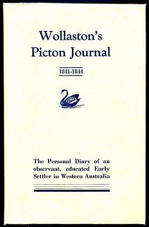 Wollaston's Picton Journal. (1841 - 1844) being: WOLLASTON, JOHN RAMSDEN.