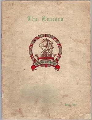The Unicorn. The Magazine of The Melbourne: CASEY, W. F;