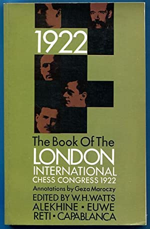 The Book of the London International Chess: WATTS, W. H;