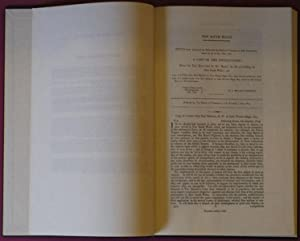 Report Of The Commissioner Of Inquiry, On: BIGGE, JOHN THOMAS.