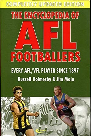 The Encyclopedia Of AFL Footballers. Every AFl/VFL: HOLMESBY, RUSSELL; MAIN,