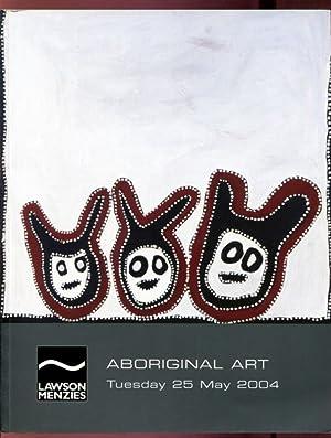 Lawson Menzies Aboriginal Art Tuesday 25 May