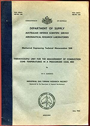 Department of Supply Australian Defence Scientific Service: MORLEY, W. J;