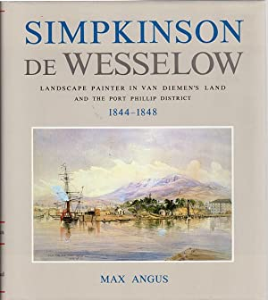 Simpkinson De Wesselow. Landscape Painter In Van: ANGUS, MAX.