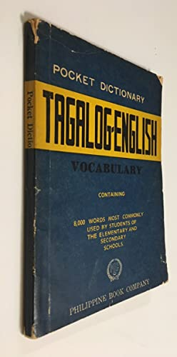 Pocket Dictionary Tagalog - English Vocabulary: Enriquez, Pablo Jacobo,