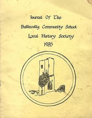 Journal of the Ballincollig Community School -: Ballincollig Local History
