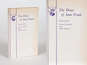 The Diary of Anne Frank.: Frank, Anne] Goodrich,