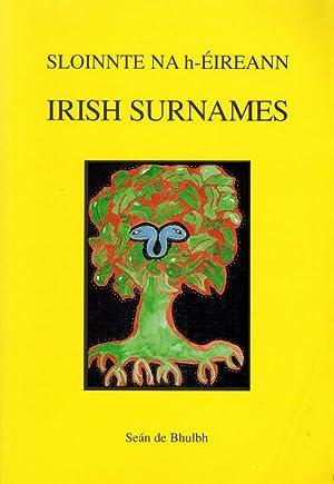 Sloinnte na hÉireann; Irish Surnames.: Bhulbh, Seán de.