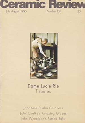 Ceramic Review - Lucie Rie Tributes: Lucie Rie)