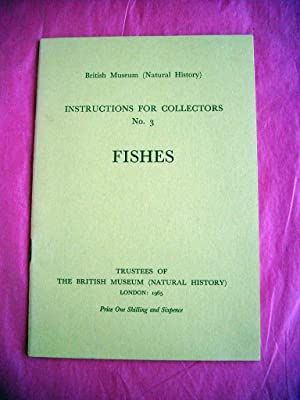 British Museum (Natural History): Instructions For Collectors: British Museum