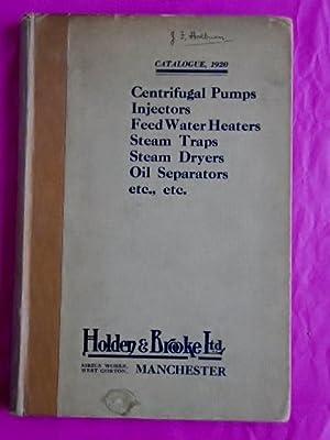 Holden & Brooke Ltd GENERAL CATALOGUE 1920: Holden & Brooke