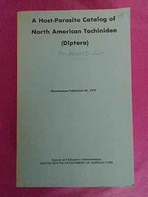 A Host-Parasite Catalog of North American Tachinidae: Arnaud, P H