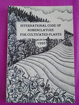 International Code of Nomenclature for Cultivated Plants: Trehane, P.