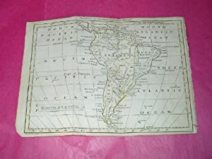 SMALL HAND-COLOURED MAP OF SOUTH AMERICA (1795)