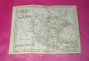 SMALL HAND-COLOURED MAP OF NORTH AMERICA (1795)