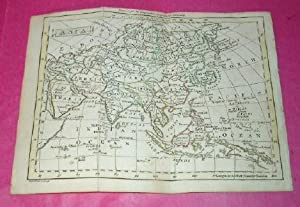SMALL HAND-COLOURED MAP OF ASIA (1795)