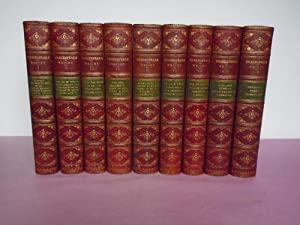 THE WORKS OF WILLIAM SHAKESPEARE In Nine: Shakespeare, William; Wright,
