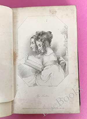 HEATH'S BOOK OF BEAUTY 1835 WITH NINETEEN BEAUTIFULLY FINISHED ENGRAVINGS, FROM DRAWINGS BY THE F...